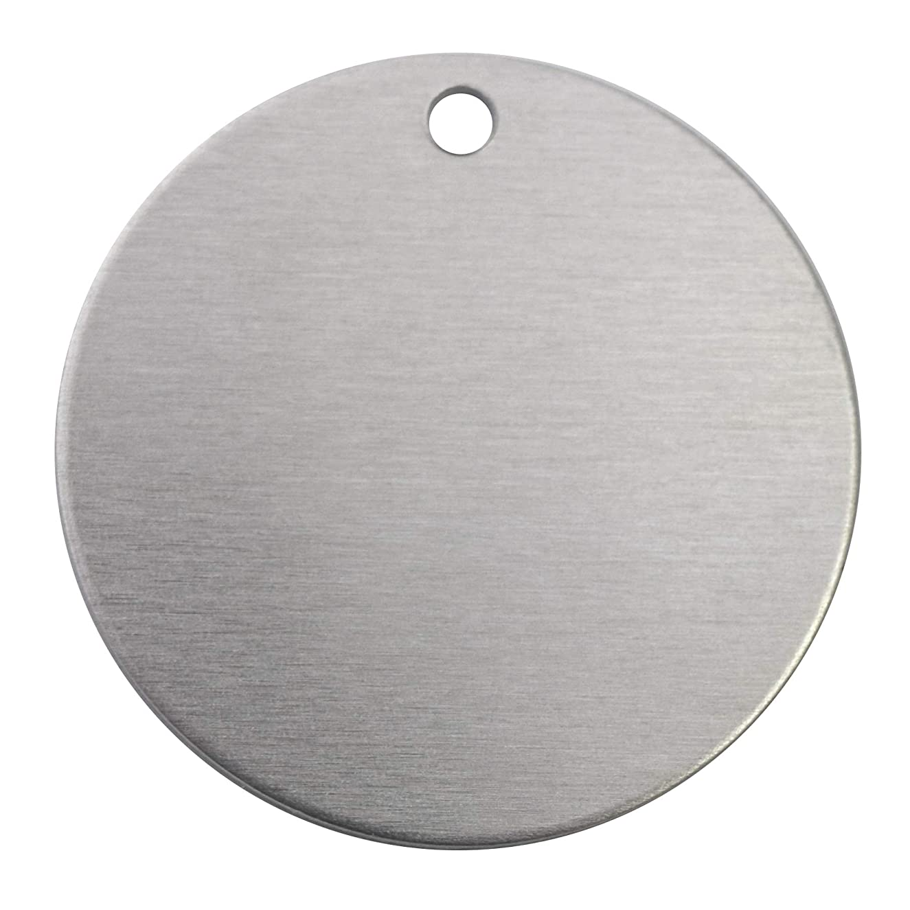 RMP Stamping Blanks, 1 1/2 Inch Round Blank With Hole, Aluminum .063 Inch (14 Ga.)- 1,000 Pack