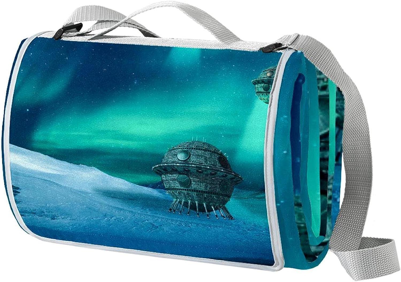meikadianzishangwu Large Portable Waterproof In a popularity Blan overseas Outdoor Picnic
