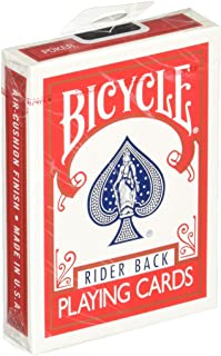 Bicycle Rider Back Playing Cards - 2 Red and 2 Blue