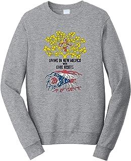 Tenacitee Mens Living in Iowa Ohio Roots T-Shirt