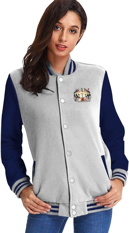 FXNOW Womens Max 49% OFF Casual Sweatshirt Fashion Baltimore Mall Baseba O-N-E-Piece Franky
