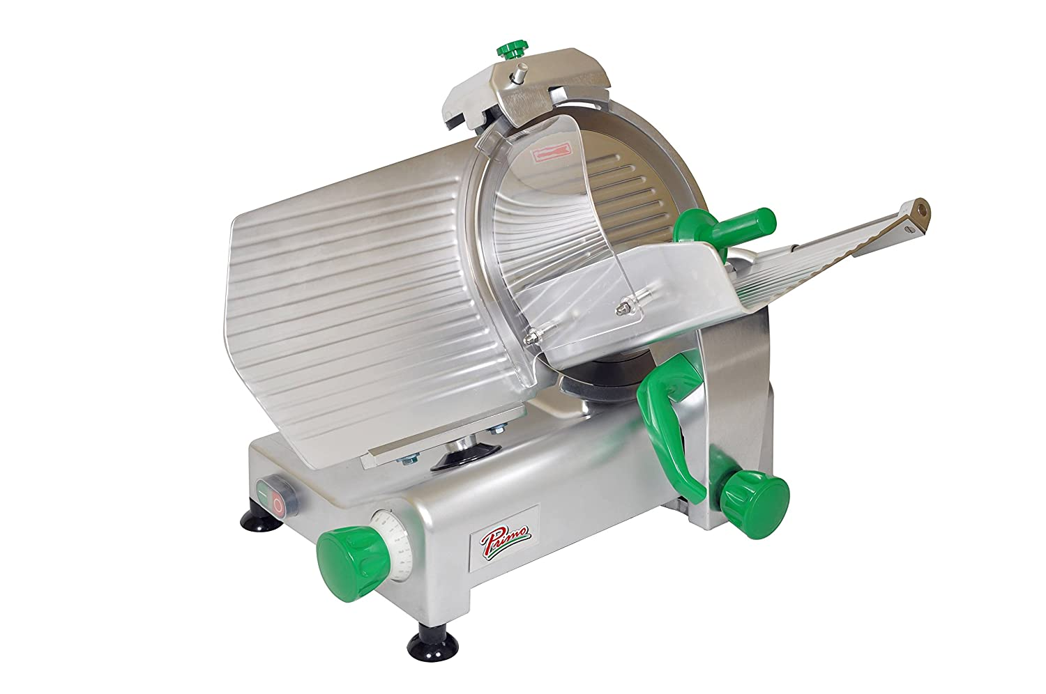 PRIMO PS-12 Anodized Aluminum Mesa Mall Meat Max 57% OFF Slicer Belt Drive Transmissi