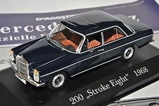Ixo Mercedes Benz 200 /8 Strich Acht Limousine Blau W114 W115 1967 1976 Inkl Zeitschrift Nr 8 1/43 Modell Auto
