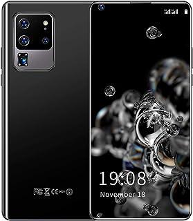スマートフォン本体 3G スマホ本体 6.82インチ スマートフォン 本体 2GB + 16GB デュアルSIM 携帯電話 3500mAhバッテリー 格安スマホ GPS WIFI 顔認証 指紋認識 PSE認証&技適認証済み 一年保証付き(ブラック)