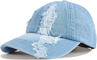 Crazy Era Vintage Distressed Baseball Cap Washed Cowboy Cotton Adjustable Dad Hat for Women and Girls