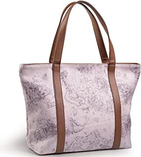 Avon Polyster Bag For Women Tote Bags,Pink