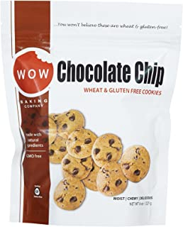 WOW Baking Company Gluten Free Cookies - Chocolate Chip - 8 oz