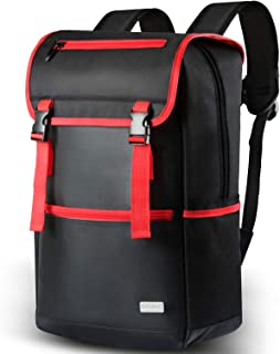 Multifunction Laptop Bag Travel Backpack Water Resistant Vintage Business Travel Bag Fits 18 Inch with Laptop and Notebook...