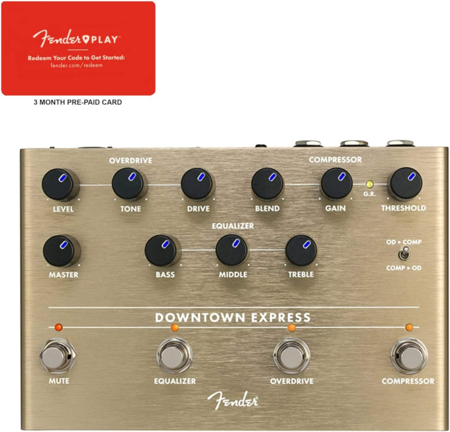 Fender Downtown Express Bass Multi C Ranking TOP19 Genuine Pedal Play Effects w