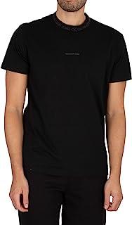 Calvin Klein Jeans Men's Logo Jacquard T-Shirt, Black, M