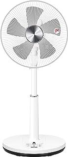 [山善] 扇風機 30cm リビング扇 マイコンスイッチ 風量4段階調節 静音モード 温度センサー 室温3段階 DCモーター搭載 入切タイマー機能 リモコン付き メタリックシルバー YLR-HED303(MS) [メーカー保証1年]