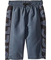Stella McCartney Kids - Bix Banded Waist Swim Shorts (Toddler/Little Kids/Big Kids)