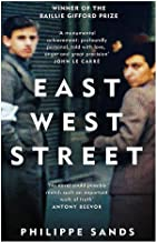 Livres East West Street: Non-fiction Book of the Year 2017 PDF