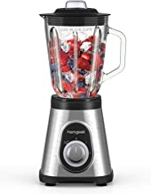 homgeek Blender Mixeur 700W, Blender Smoothie et Milk-shake Professionnel avec 1.5L Bocal en Verre, 6 Lames en Acier Inoxy...