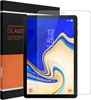MEGOO Screen Protector for Samsung Galaxy Tab S4 10.5 Inch, Ultra-Thin/ 9H Hardness/HD Clear Premium Tempered Glass Screen Protector for SM-T835 Tablet