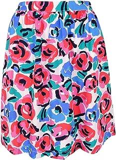Women's Floral-Print A-Line Skirt