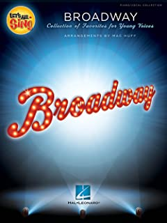 Hal Leonard Let's All Sing Broadway Performance/Accompaniment CD Arranged by Mac Huff