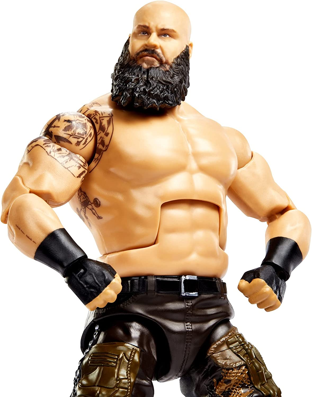 WWE Braun Strowman Elite Collection Series 86 Action Figure 6 in Multi