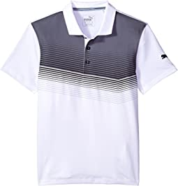 PUMA Golf Kids Road Map Polo JR (Big Kids)