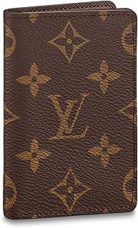 Louis Vuitton Pocket Organizer Monogram Canvas Wallet Card Case