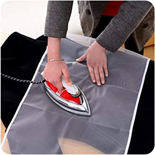 SAVDHAAN® Protective Nylon Mesh Ironing Cloth Iron Delicate Garment Clothes Guard Press Protection Pad Insulation Mat Home...