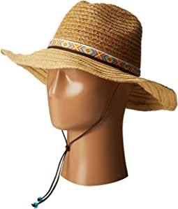 San Diego Hat Company - PBL3044 Sunbrim w/ Jaquard Band and Chin Cord