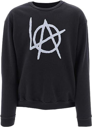 LOCAL AUTHORITY Luxury mode Homme D19LSN00WASHED Noir Sweatshirt   Printemps été 19