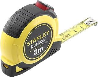 Stanley STHT36802-0 Flexómetro 3m x 13mm-Dual Lock, 0 V, Multicolore