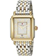 Michele - Deco Madison Two-Tone, Diamond Dial Watch