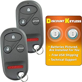 Discount Keyless Entry Remote Car Key Fob Compatible with Honda A269ZUA101 (2 Pack)