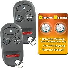 For 96-06 Honda Keyless Entry Remote Key Fob 4btn A269ZUA101, 72147-SZ3-A92, 72147-S0K-A13, 72147-S0K-A23-2 PACK
