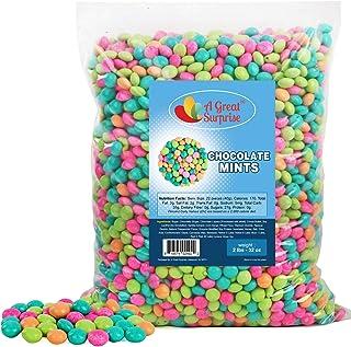 Chocolate Mints - After Dinner Mints - Pastel Candy - 2 LB