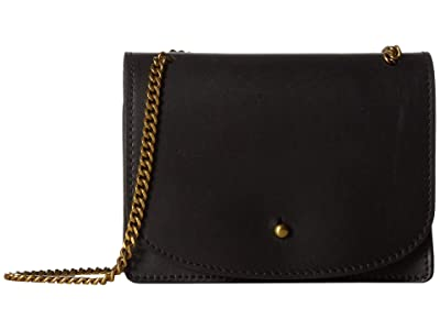 Madewell The Chain Crossbody Bag (True Black) Handbags