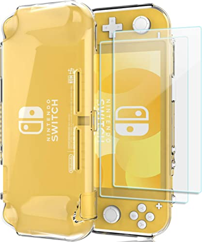 ProCase Coque Nintendo Switch Lite 2019, Étui Housee de Protection Cover TPU Transparent Anti-Choc Anti-Rayures, avec...