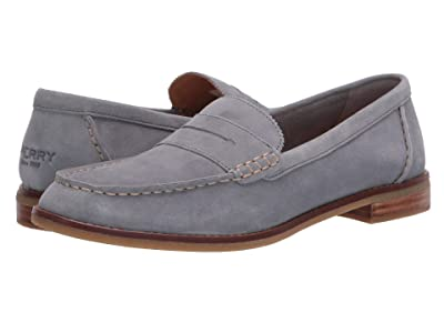 Sperry Seaport Penny Shag Nubuck (Grey) Women