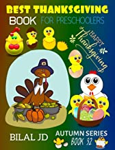 BEST THANKSGIVING BOOK FOR PRESCHOOLERS: COLORING BOOKS: ACTIVITY BOOKS: THANKSGIVING BOOKS-PAPERBACK (AUTUMN)