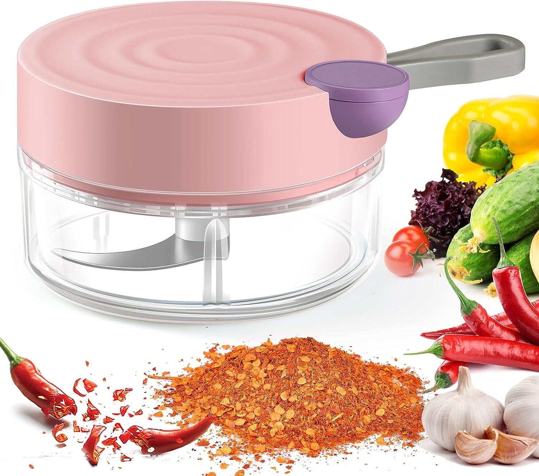 Premium Garlic Chopper Mincer Nippon regular agency Pull Mini Vegetable Ch Meat Classic Slicer