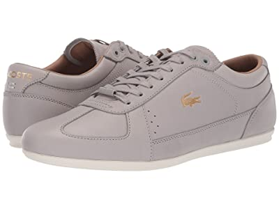 Lacoste Evara Premium 319 2 US (Grey/Off-White) Men