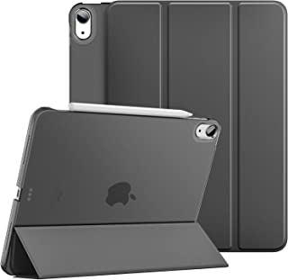 iPad Air 4 ケース 2020 Dadanism iPad 10.9インチ カバー アイパッド エア 第4代 タブレットケース オートスリープ機能 三つ折り スタンドケース 軽量 薄型 PU+PC 耐久性 マイクロファイバー裏地 半透明...