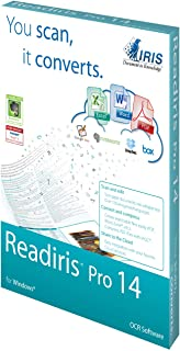 IRIS Readiris Pro 14 OCR Software for PC
