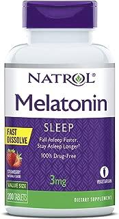 Best natrol melatonin fall asleep fast Reviews