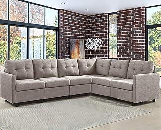 Amazon.com: 6 Pieces - Living Room Sets / Living Room ...