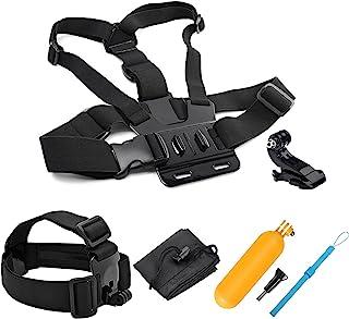 SHOOT 5in1 Kit de Accesorios Deportes al Aire Libre Bundle para GoPro Hero 8/7/6/5/4/3+/3/SJCAM/SJ4000/SJ5000/Victure/APEMAN/Xiaomi Yi Cámara de Acción