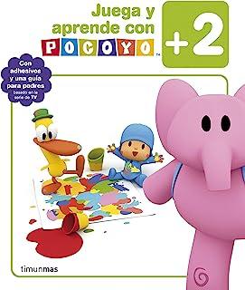 Juega y aprende con Pocoyó (+2): Con adhesivos y una guía
