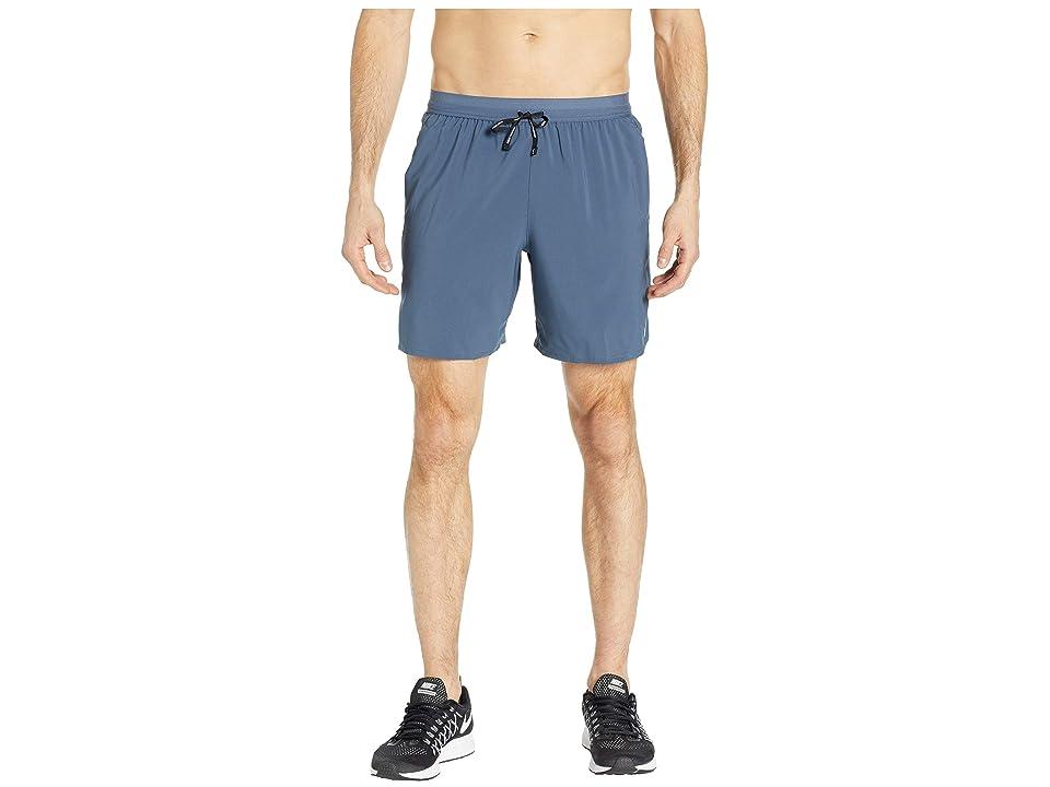 Nike Flex Stride Shorts 7 BF (Monsoon Blue/Metallic Silver) Men