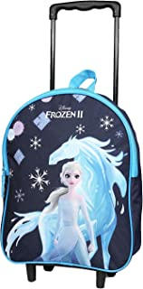 Sac à Dos à roulettes 31 cm La Reine des Neiges/Frozen Disney Bleu Marine Bagtrotter