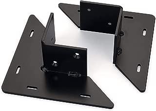 WoodRiver Table Leg Brackets, 3-1/2