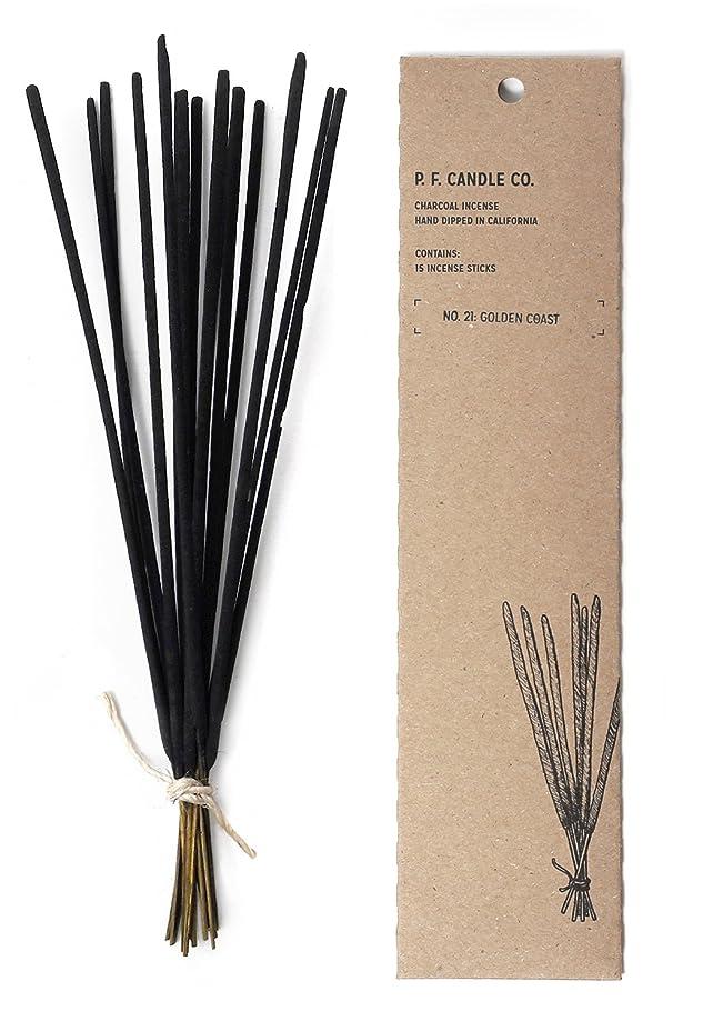 トリプル持つではごきげんようp.f. Candle Co。?–?No。21?: Golden Coast Incense 2-Pack