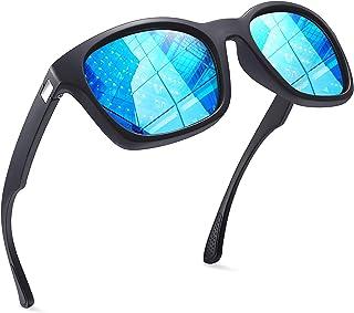 Joopin Gafas de Sol Polarizadas Cuadradas Clásico Retro Vintage para Hombre y Mujer con Protección UV400 Gafas para Conduc...