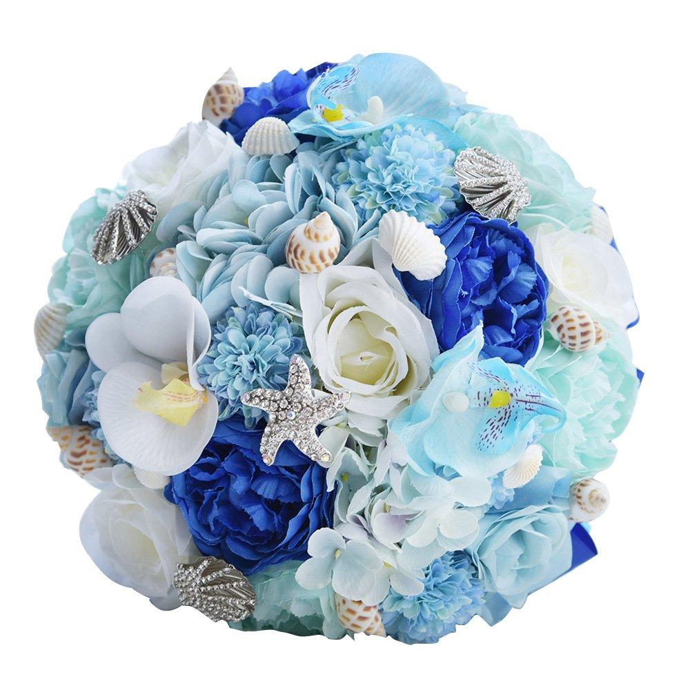 Abbie Home Beach Wedding Bridal Bouquet Holding Tossing Flower